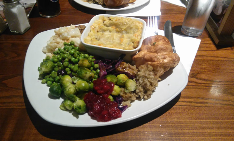Toby Carvery Vegan Roast