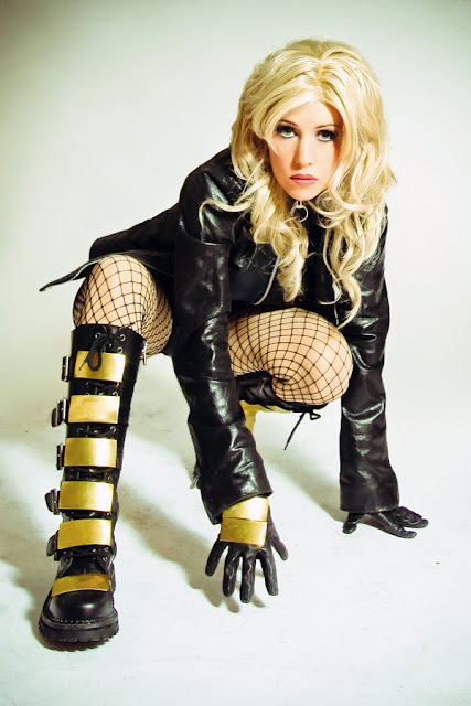 black canary costume