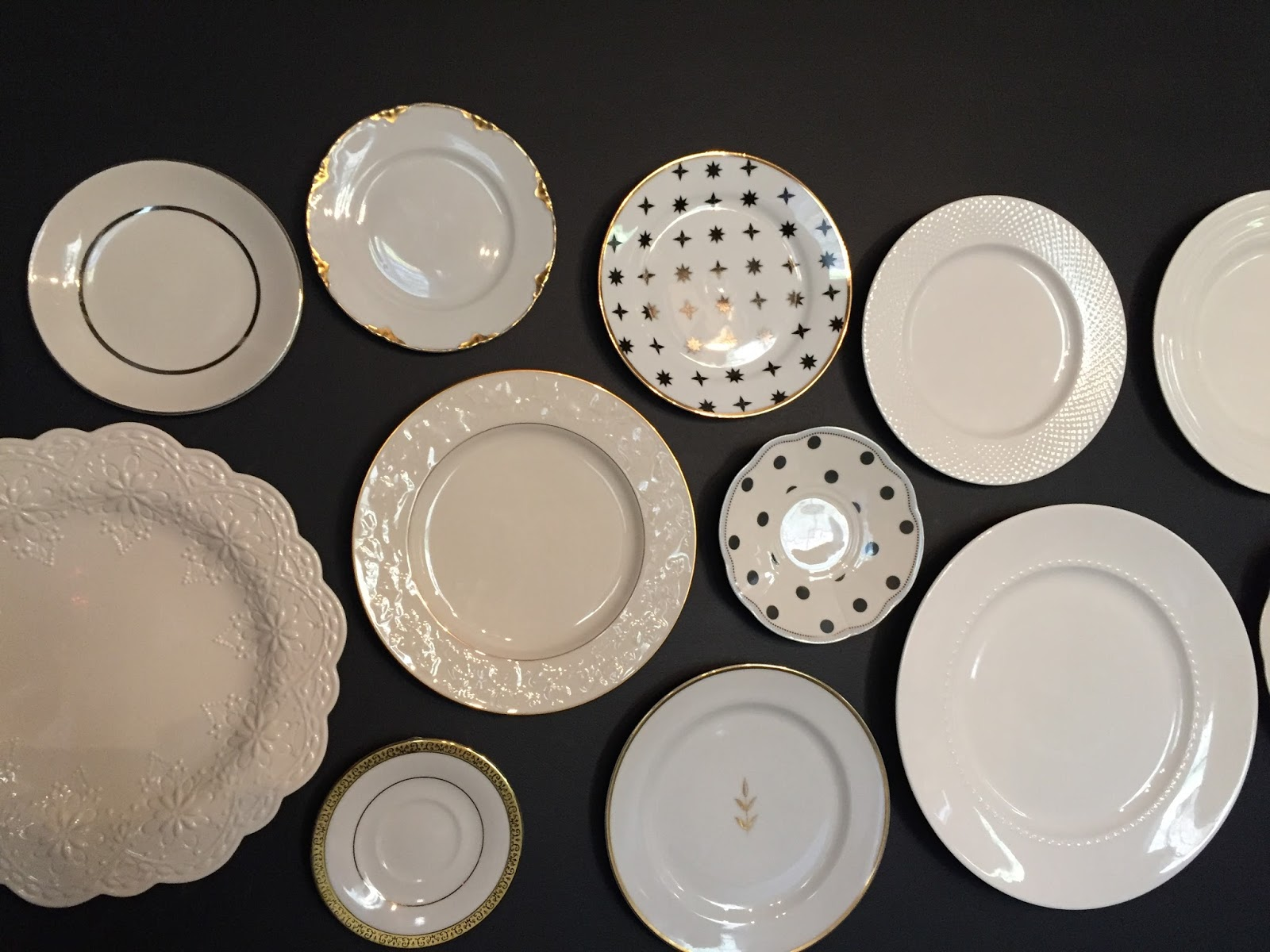 My plates came from all kinds of different plates thrift shops & DIY Wall of Plates \u2014 Karen Ehman