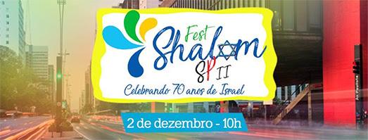 Cultura judaica será celebrada com grande Festival de Rua  na região da Av. Paulista