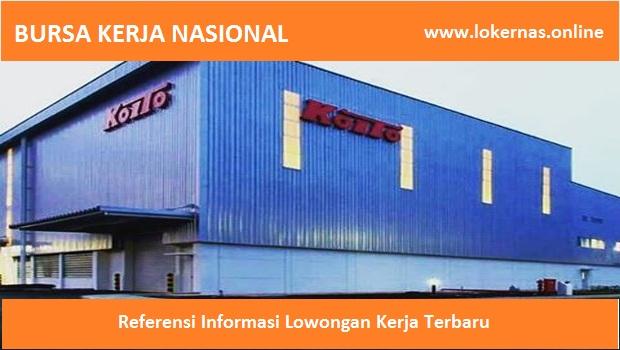 Info Kerja Terbaru di PT Indonesia Koito (Lulusan SMA/SMK/Setara)