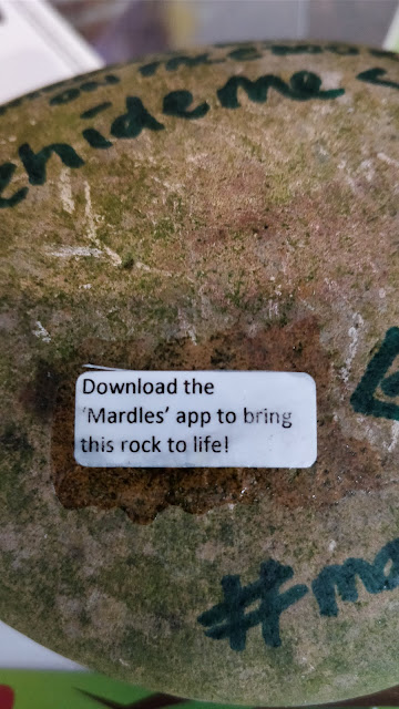mardles rock stickers and app