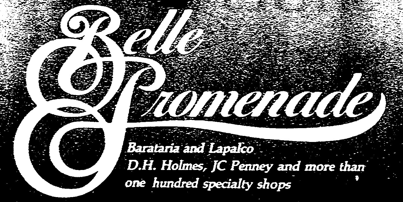 The Louisiana and Texas Retail Blogspot: Belle Promenade