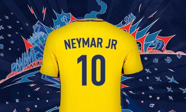 Neymar Resmi Gabung Paris Saint-Germain