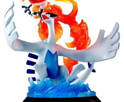 "Figuras: Primeras imágenes del G.E.M EX de Lugia y Ho-oh de ""Pokémon"" - MegaHouse"