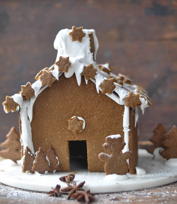 DIY Gingerbread House, gluten free and oh-so good