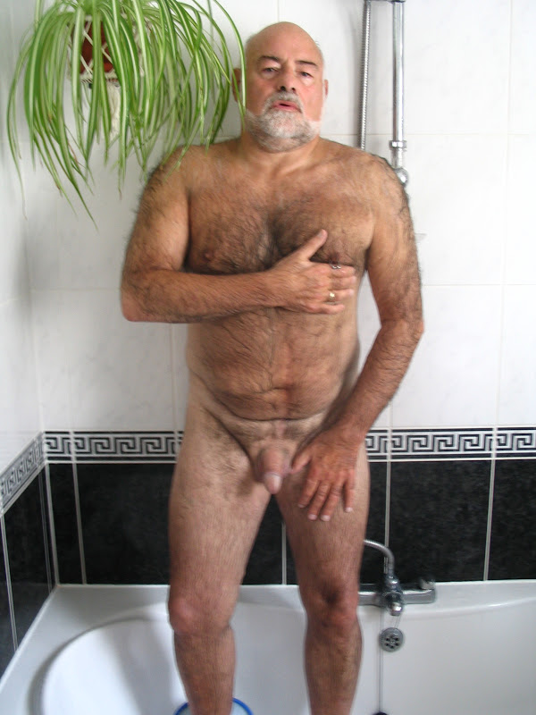 handsome gay bear fingering