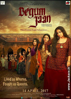 Begum Jaan's First Look Poster