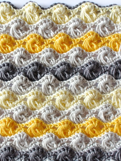 Crochet Textured Long Loop Stitch - Free Pattern & Tutorial