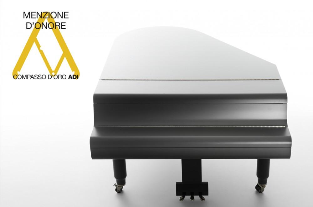 Suono e Design: menzione d'onore al Compasso d'Oro per il pianoforte ZB200