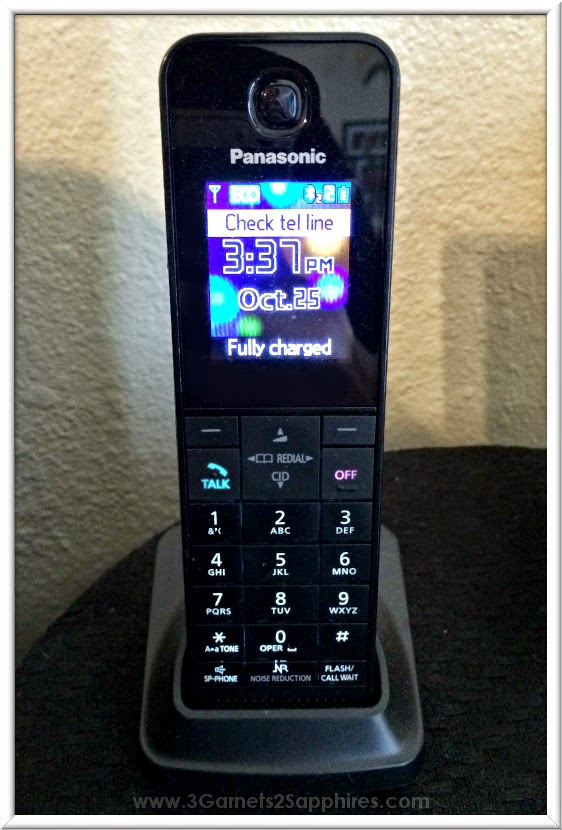 Panasonic Link2Cell Bluetooth Enabled Phones  |  www.3Garnets2Sapphires.com