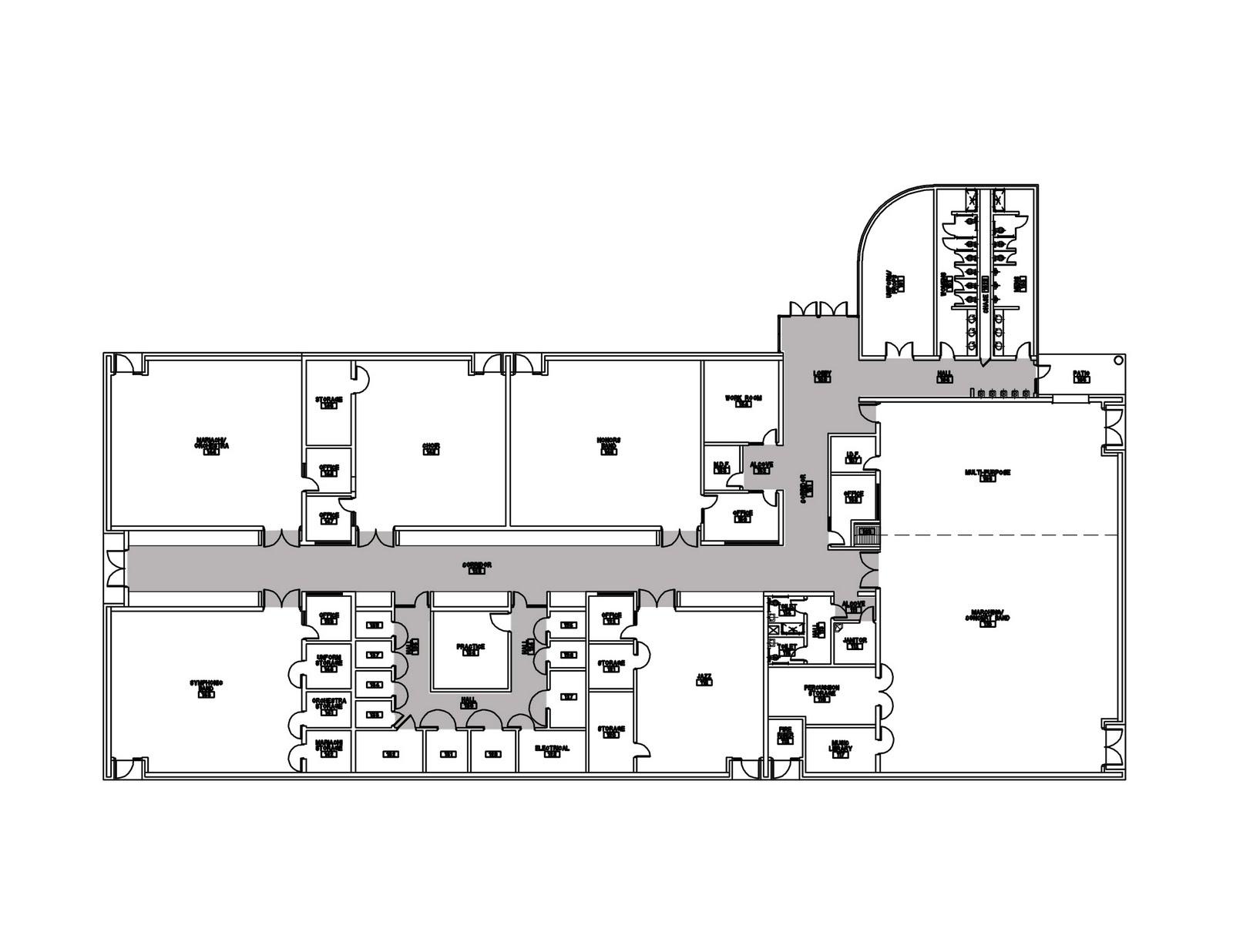 Mata + Garcia Architects Sketchbook: Weslaco High School