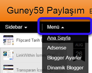 Dinamik Blogger Pages