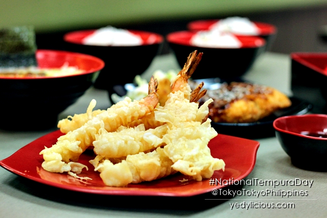 National Tempura Day at Tokyo Tokyo Philippines, Tokyo Tokyo PH Blog Review Branches Menu Website Facebook Instagram Twitter