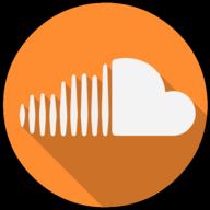 soundcloud colorful icon