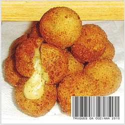 Bolinhas de queijo crocantes sequinhas