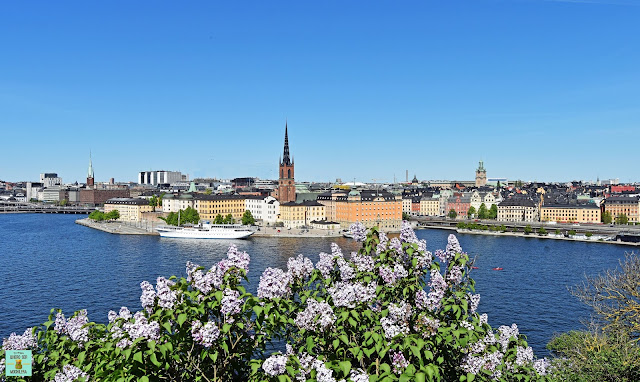 Vistas desde Mariaberget, Estocolmo