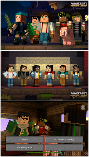 Minecraft Story Mode Apk Unlock idea gallery
