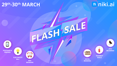 Niki App Flash Sale Offer