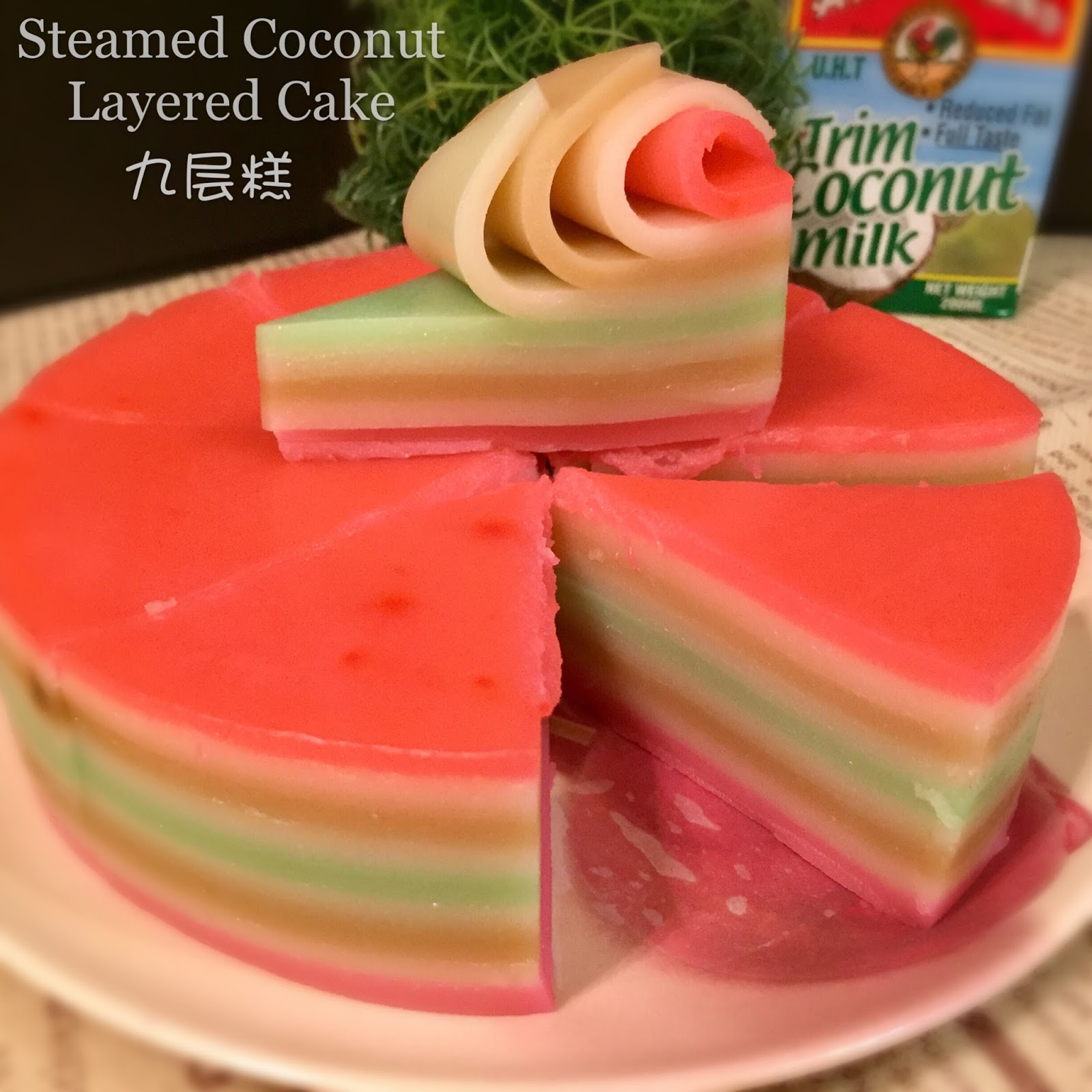 Low Fat Coconut Cake 105