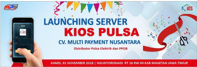 Server Kios Pulsa Open Pendaftaran MD 01 November 2018