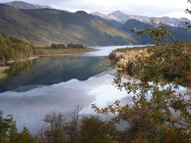 Estrutura do Lago Guillelmo em Bariloche