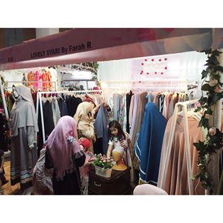 Ramenya Bisnis Fashion Muslim Syar'i Wanita Lovely Syar'i