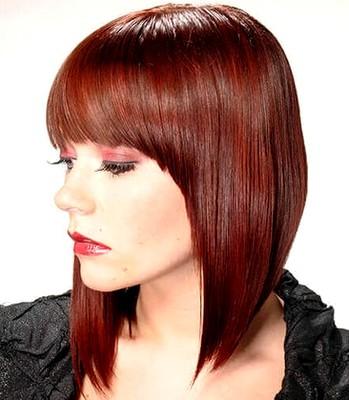 model potongan rambut tipis wajah bulat