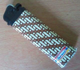 korek api motif batik parang Indomaret