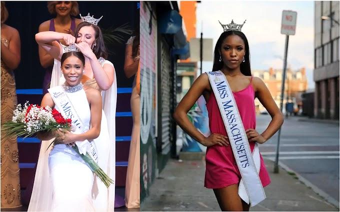 Dominicana es primera mujer de color coronada Miss Massachusetts y competirá en Miss América 2018 representando el estado