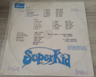 Superkid..group formed in 1975 .. used great popularity .. along with the  AKA and SAS groups were considered one of the most difficult groups in  Indonesia ...