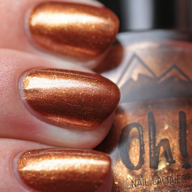 3 Oh 7! Nail Lacquer Pumpkin Spice