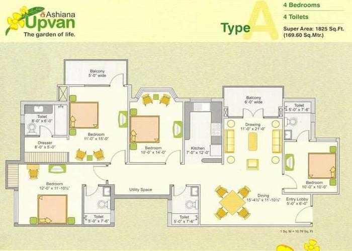 4bhk-flat-in-ashiana-upvan