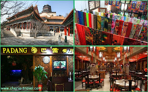 Summer Palace, Silk Store, Padang Restaurant, Tea House