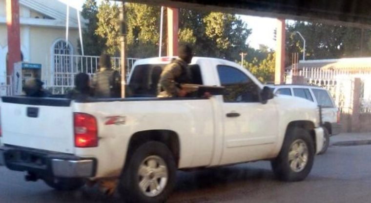 Pánico en Villa Juárez, reportan fuerte balacera