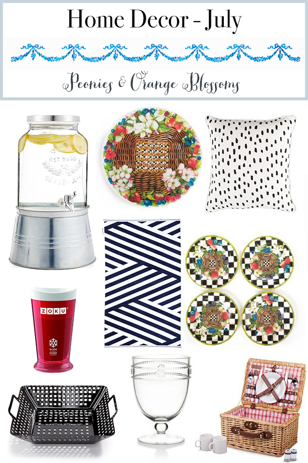 July Home Decor Favorites