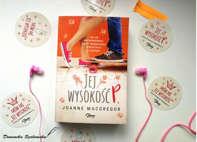 """#187 Premierowa recenzja książki """"Jej Wysokość P."""" Joanne Macgregor"""