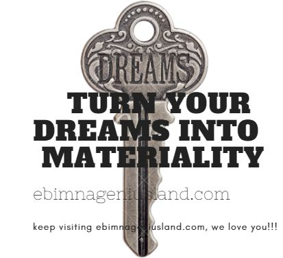 Turn Your Dreams Into Materiality