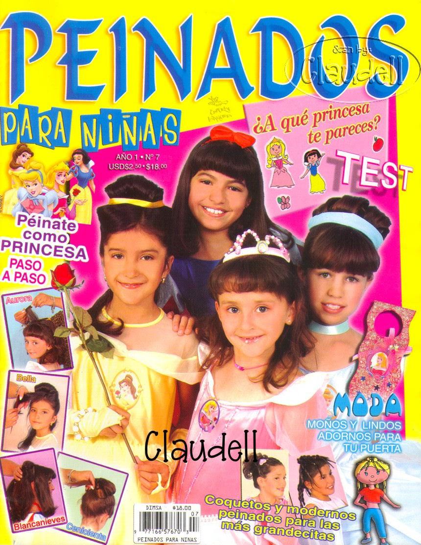 como hacer peinados para nias de princesas  Revistas de