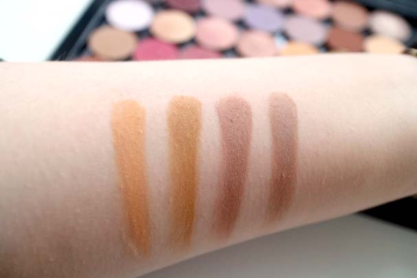 Colourpop Pressed Shadows - Running Late, Paper Tiger, Wake Up Call, Bel Air