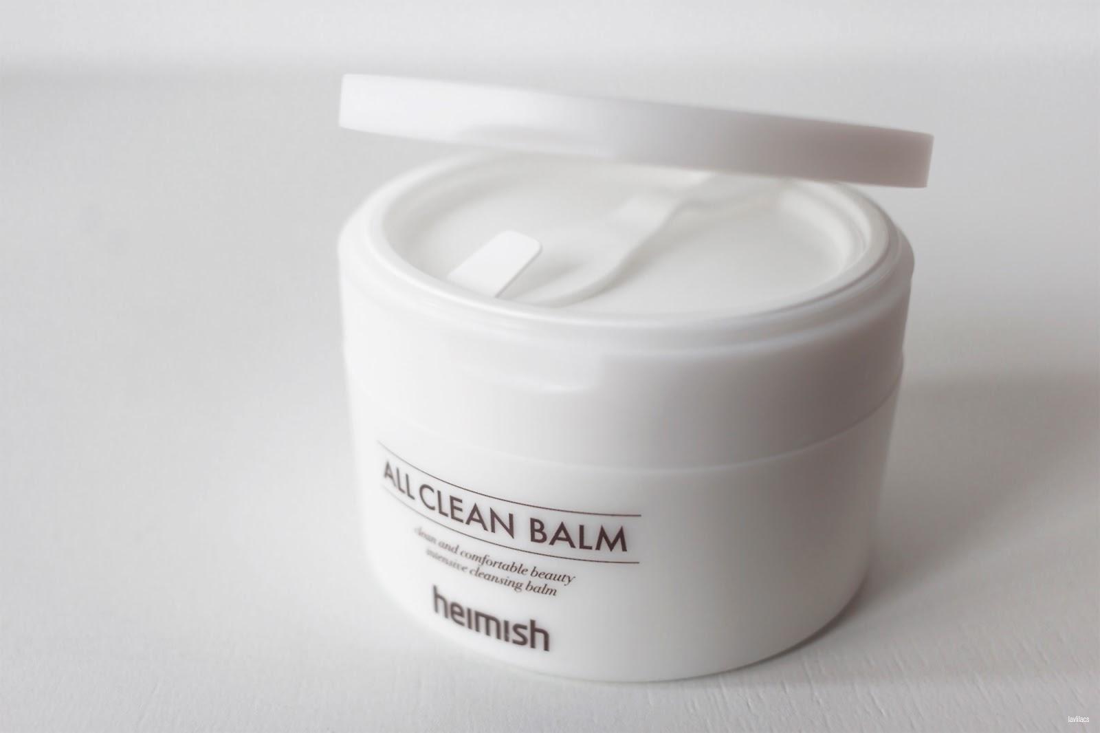 lavlilacs heimish All Clean Balm new lid closeup