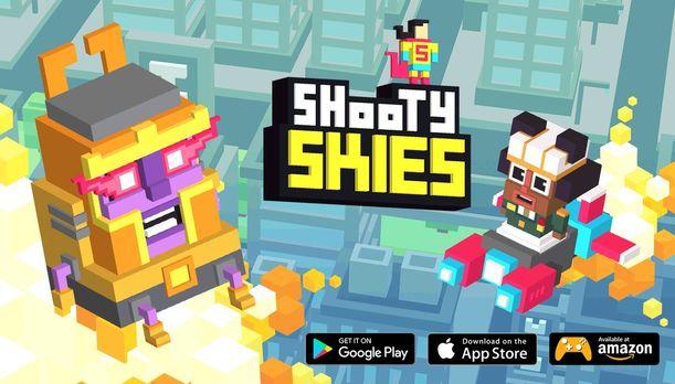 Shooty Skies - Arcade Flyer 2018