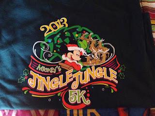 Disney 5K Race T-shirt