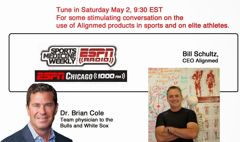 Posture Tips: Fwd: TUNE IN: ESPN CHICAGO, SATURDAY AT 6:30