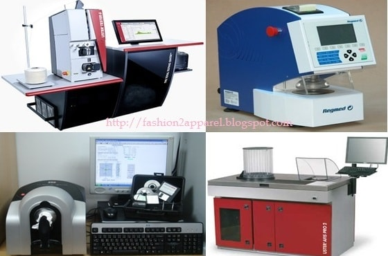 modern textile testing and quality equipments