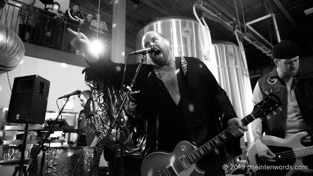Sam Coffey and The Iron Lungs at The Elora Brewing Company on March 16, 2019 Photo by John Ordean at One In Ten Words oneintenwords.com toronto indie alternative live music blog concert photography pictures photos nikon d750 camera yyz photographer