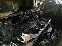 (ФОТО)Пожар в г. Сухой Лог ул. Вокзальная