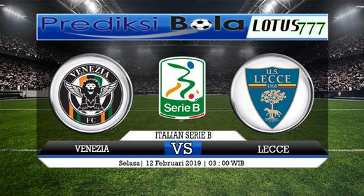 Prediksi Venezia vs Lecce 12 Februari 2019