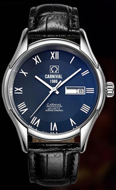 Đồng hồ nam chính hãng mặt xanh