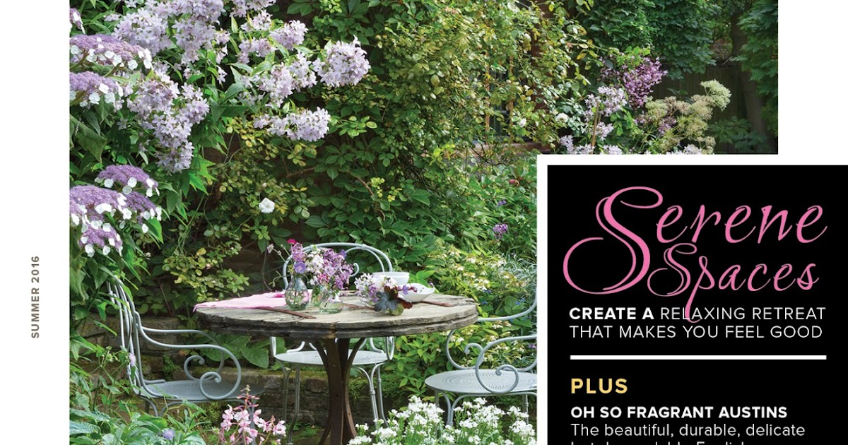 Serenity In The Garden Win A Free Issue Of Garden Design